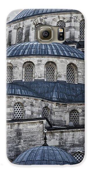 Blue Dawn Blue Mosque Galaxy S6 Case by Joan Carroll
