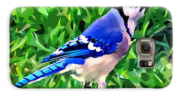 Blue Jay Galaxy S6 Case by Stephen Younts