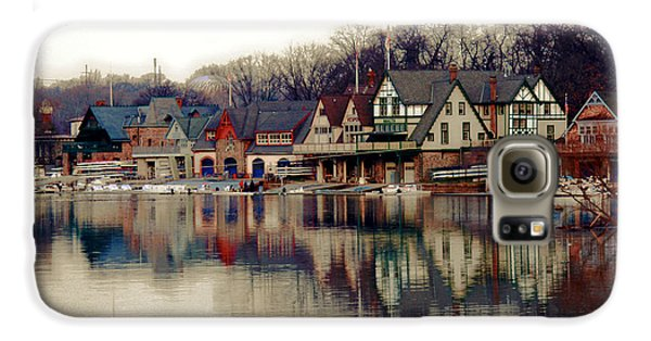 Boathouse Row Philadelphia Galaxy S6 Case by Tom Gari Gallery-Three-Photography
