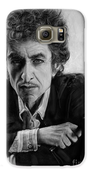 Bob Dylan Galaxy S6 Case by Andre Koekemoer