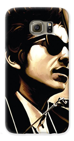 Bob Dylan Artwork 3 Galaxy S6 Case by Sheraz A