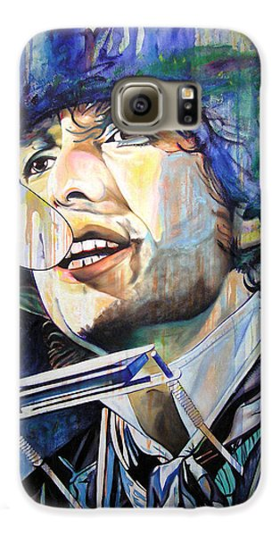 Bob Dylan Tangled Up In Blue Galaxy S6 Case by Joshua Morton
