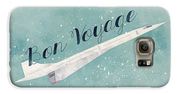 Bon Voyage Galaxy S6 Case by Randoms Print