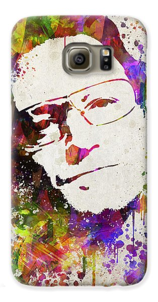 Bono In Color Galaxy S6 Case by Aged Pixel