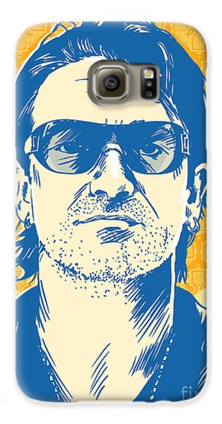 Bono Pop Art Galaxy S6 Case by Jim Zahniser
