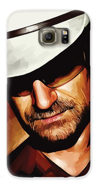 Bono U2 Artwork 3 Galaxy S6 Case by Sheraz A