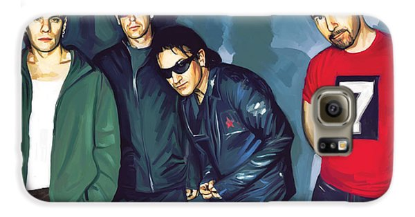 Bono U2 Artwork 5 Galaxy S6 Case by Sheraz A