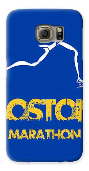 Boston Marathon2 Galaxy S6 Case by Joe Hamilton