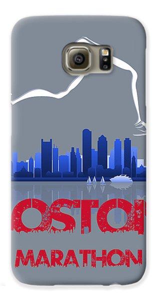 Boston Marathon3 Galaxy S6 Case by Joe Hamilton