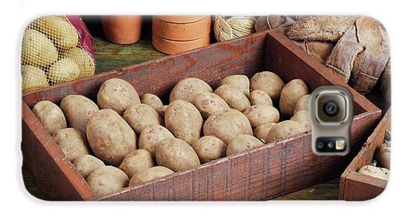 Box Of Potatoes Galaxy S6 Case by Geoff Kidd