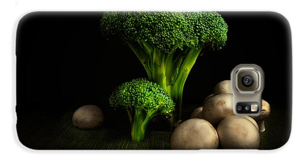 Broccoli Crowns And Mushrooms Galaxy S6 Case by Tom Mc Nemar
