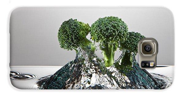 Broccoli Freshsplash Galaxy S6 Case by Steve Gadomski