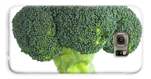 Broccoli Galaxy S6 Case by Science Photo Library