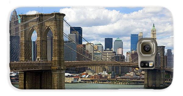Brooklyn Bridge Galaxy S6 Case by Diane Diederich