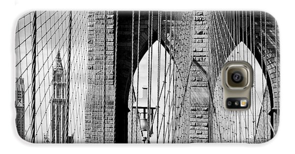 Brooklyn Bridge New York City Usa Galaxy S6 Case by Sabine Jacobs