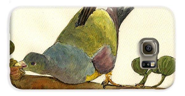 Bruce S Green Pigeon Galaxy S6 Case by Juan  Bosco