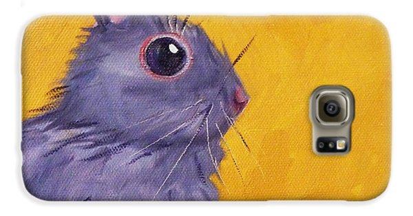 Bunny Galaxy S6 Case by Nancy Merkle