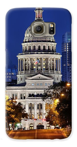 Capitol Of Texas Galaxy S6 Case by Silvio Ligutti