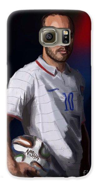 Captain America Galaxy S6 Case by Jeremy Nash