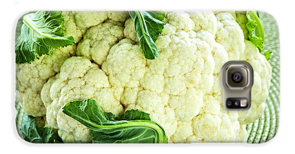 Cauliflower Galaxy S6 Case by Elena Elisseeva
