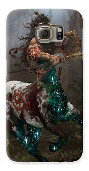 Centaur Token Galaxy S6 Case by Ryan Barger