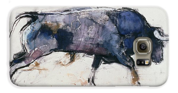 Charging Bull Galaxy S6 Case by Mark Adlington