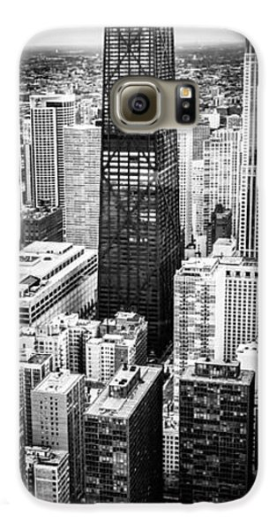 Chicago Aerial Vertical Panoramic Picture Galaxy S6 Case by Paul Velgos