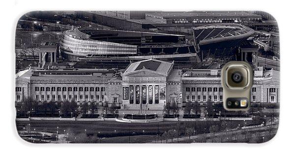 Chicago Icons Bw Galaxy S6 Case by Steve Gadomski