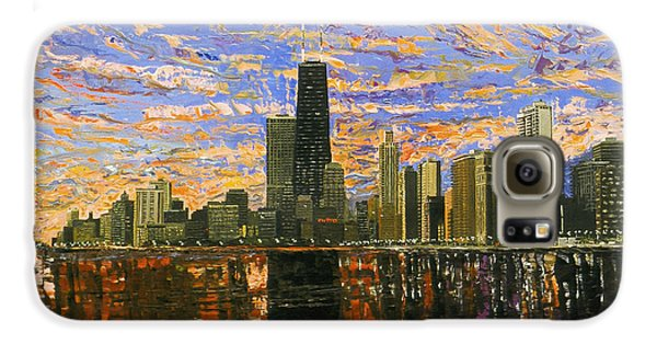 Chicago Galaxy S6 Case by Mike Rabe
