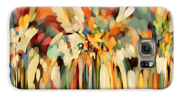 Christian Art- Angels Guiding Lot. Genesis 19 15 Galaxy S6 Case by Mark Lawrence
