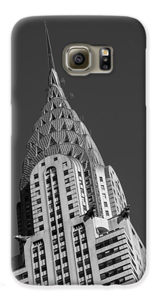 Chrysler Building Bw Galaxy S6 Case by Susan Candelario