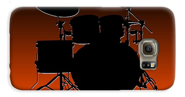 Cincinnati Bengals Drum Set Galaxy S6 Case by Joe Hamilton