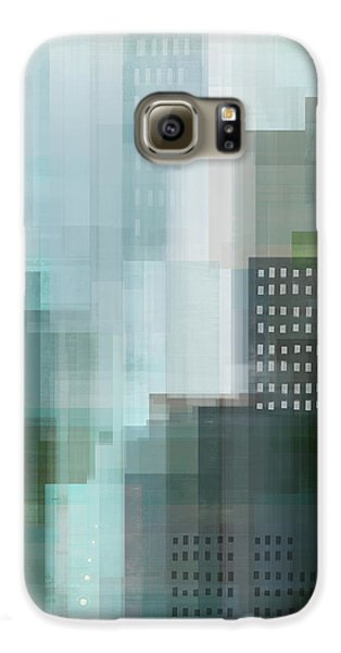 City Emerald Galaxy S6 Case by Dan Meneely