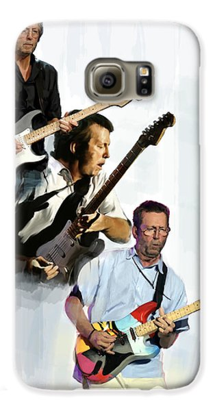 Clapton Eric Clapton Galaxy S6 Case by Iconic Images Art Gallery David Pucciarelli