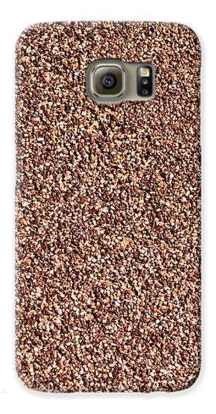 Coarse Grained Texture Galaxy S6 Case by Alexander Senin