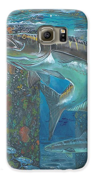 Cobia Strike In0024 Galaxy S6 Case by Carey Chen