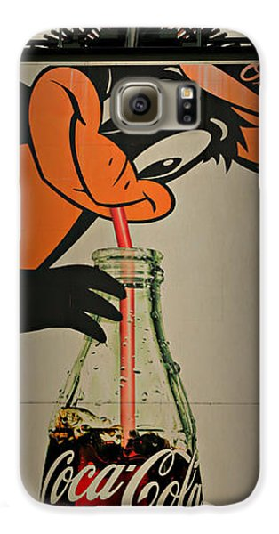 Coca Cola Orioles Sign Galaxy S6 Case by Stephen Stookey