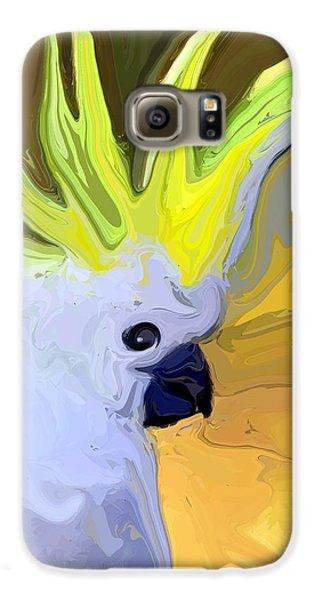 Cockatoo Galaxy S6 Case by Chris Butler