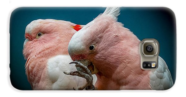Cockatoos Galaxy S6 Case by Ernie Echols