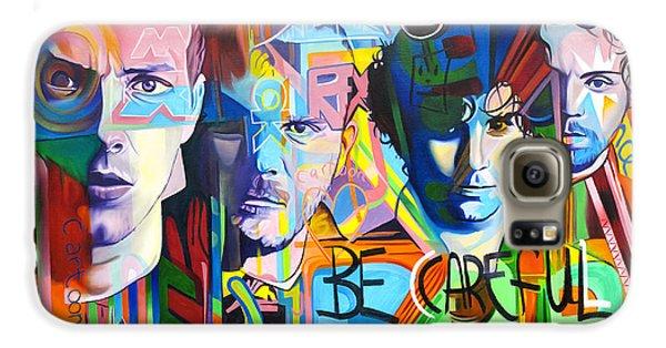 Coldplay Galaxy S6 Case by Joshua Morton