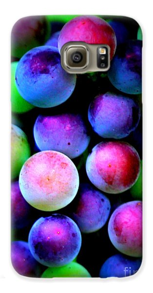 Colorful Grapes - Digital Art Galaxy S6 Case by Carol Groenen