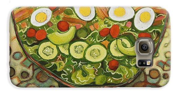Cool Summer Salad Galaxy S6 Case by Jen Norton