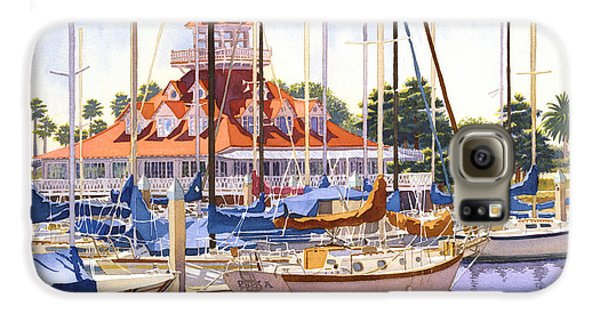 Coronado Boathouse Galaxy S6 Case by Mary Helmreich