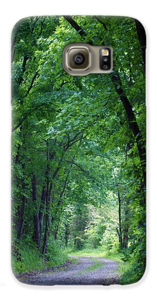 Country Lane Galaxy S6 Case by Cricket Hackmann
