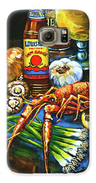 Crawfish Fixin's Galaxy S6 Case by Dianne Parks