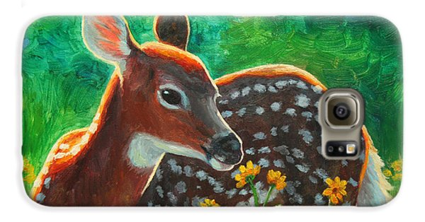 Daisy Deer Galaxy S6 Case by Crista Forest