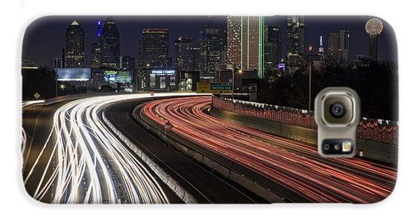 Dallas Night Galaxy S6 Case by Rick Berk