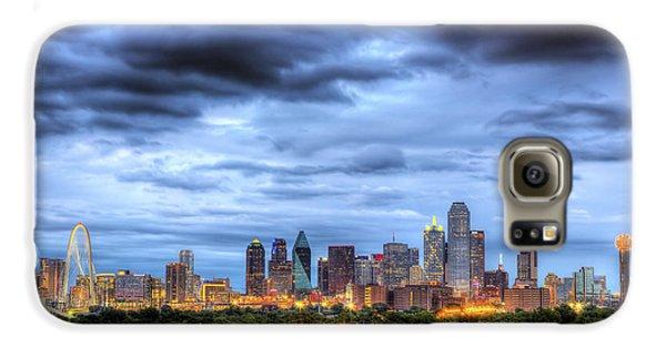Dallas Skyline Galaxy S6 Case by Shawn Everhart