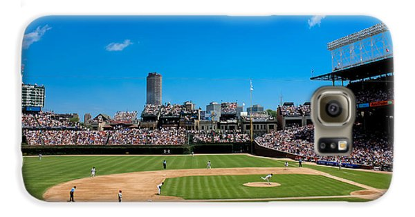 Day Game At Wrigley Field Galaxy S6 Case by Anthony Doudt