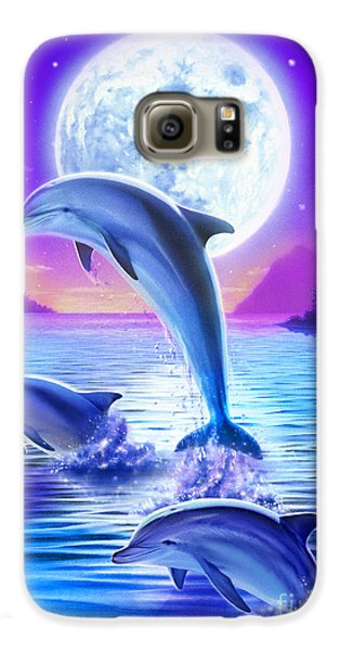 Day Of The Dolphin Galaxy S6 Case by Robin Koni
